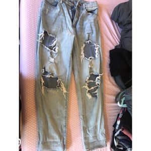 Urban Outfitters BDG Denim distressed mom jeans